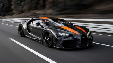 Bugatti Chiron - tracking