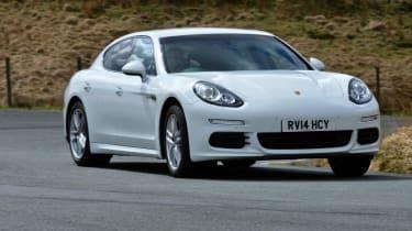 Porsche Panamera 2014 front