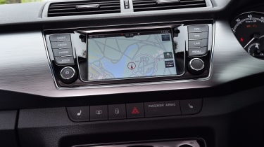 Skoda Fabia SE L: long-term test review - first report sat-nav
