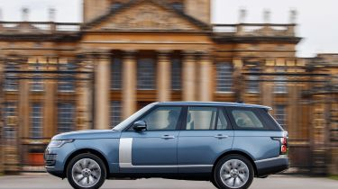 Range Rover PHEV - side action