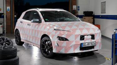Hyundai Kona N prototype - front static