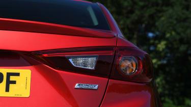 Mazda 3 Fastback - taillight