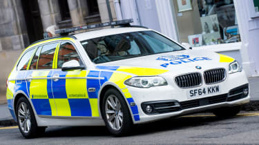BMW 5 Series police car