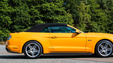 Ford Mustang Convertible - roof up