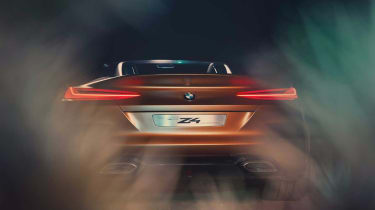BMW Concept Z4 leaked - rear night