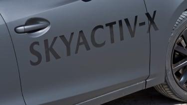 Mazda 3 Skyactiv-X prototype - door