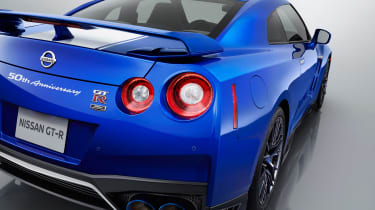 Nissan GT-R 50th Anniversary Edition - studio rear detail