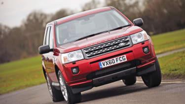 Land Rover Freelander eD4 corner