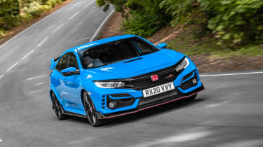 Honda Civic Type R - front o/s tracking