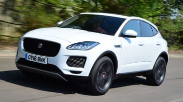 Jaguar E-Pace - front