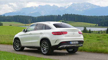 Mercedes GLE Coupe 2015 rear static