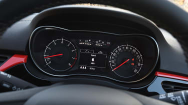 Vauxhall Corsa Red Edition - dials