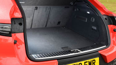 Porsche Cayenne Coupe - boot
