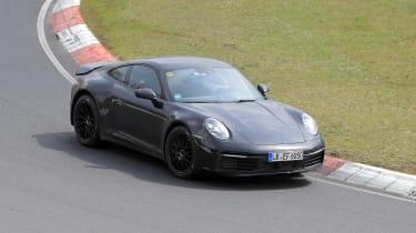 Porsche 911 Safari spy