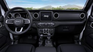 Jeep 80th Anniversary - interior