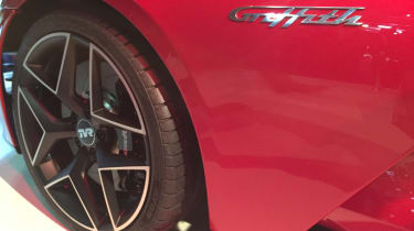 TVR Griffith reveal - wheel