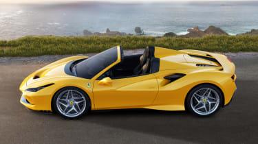 Ferrari F8 Spider - side