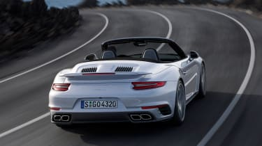 New 2016 Porsche 911 Turbo Cabriolet