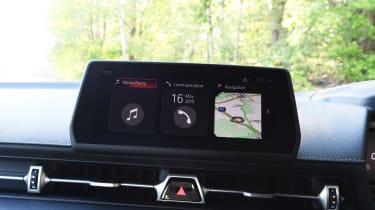 Toyota Supra - infotainment