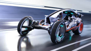SAIC Design R RYZR concept - driving
