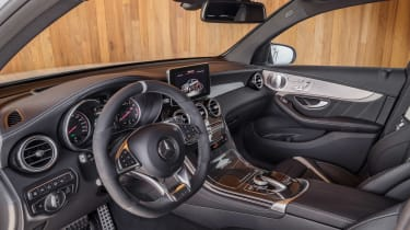 Mercedes-AMG GLC 63 Coupe cabin