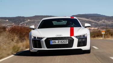 Audi R8 RWS - full front