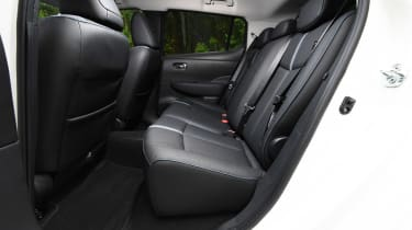 Nissan Leaf e+ - rear seats