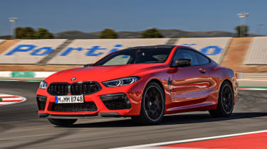 BMW M8 - front track