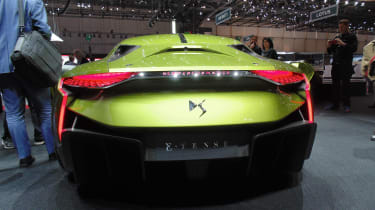 DS E-Tense Geneva - rear