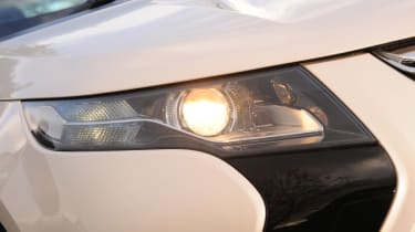 Vauxhall Ampera headlight