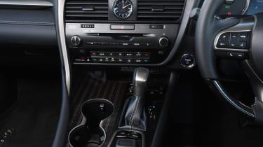 Lexus RX 450h L - centre console