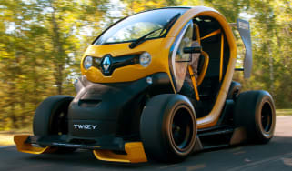 Renault Twizy F1 action 2