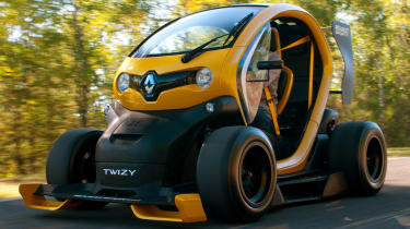 Renault Twizy F1 review | Auto Express