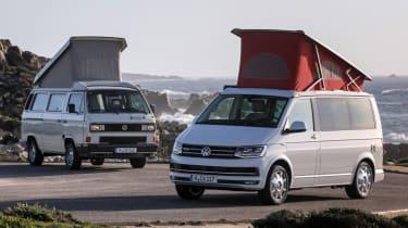 Volkswagen California twin static