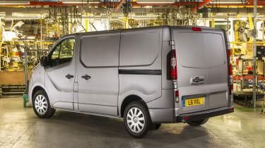 Vauxhall Vivaro 2014 rear