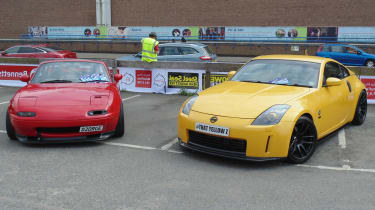 Coventry Motofest 2016 - 350Z and MX-5