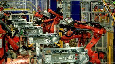 Peugeot's Sochaux factory production line
