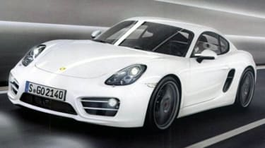 Porsche Cayman best coupe