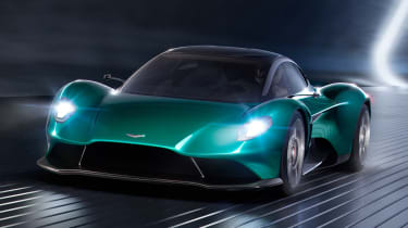 Aston Martin Vanquish Vision concept - front