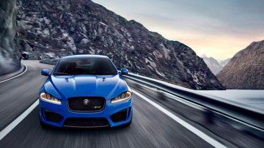 Jaguar XFR-S front