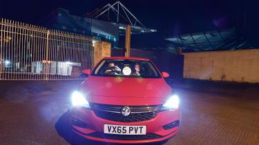 Vauxhall Astra - Windsor Park