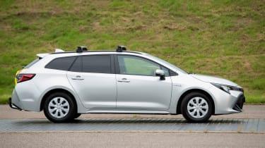 Toyota Corolla Commercial hybrid van - side