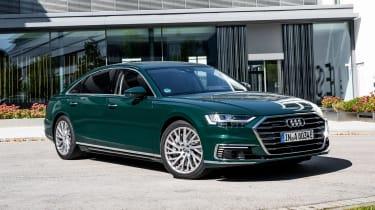 Audi A8 60 TFSI e - front static