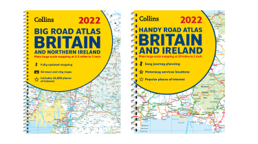 Collins 2022 road atlases