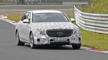 Mercedes E-Class 2016 spies front