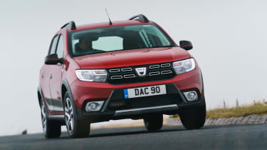 Dacia Sandero Stepway Techroad - front action