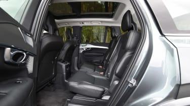 Volvo XC90 T8 - rear seats