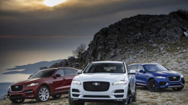 Jaguar F-Pace 2018 model year