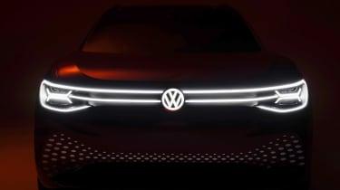 Volkswagen ID. Roomzz - full front dark