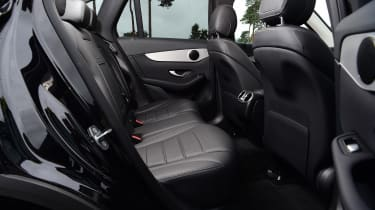 Mercedes GLC 220 d  - rear seats